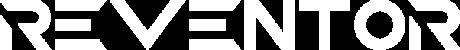 REVENTOR Logo nur Text weiß