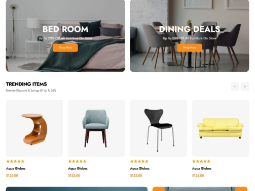 Furniture Shop 2021
